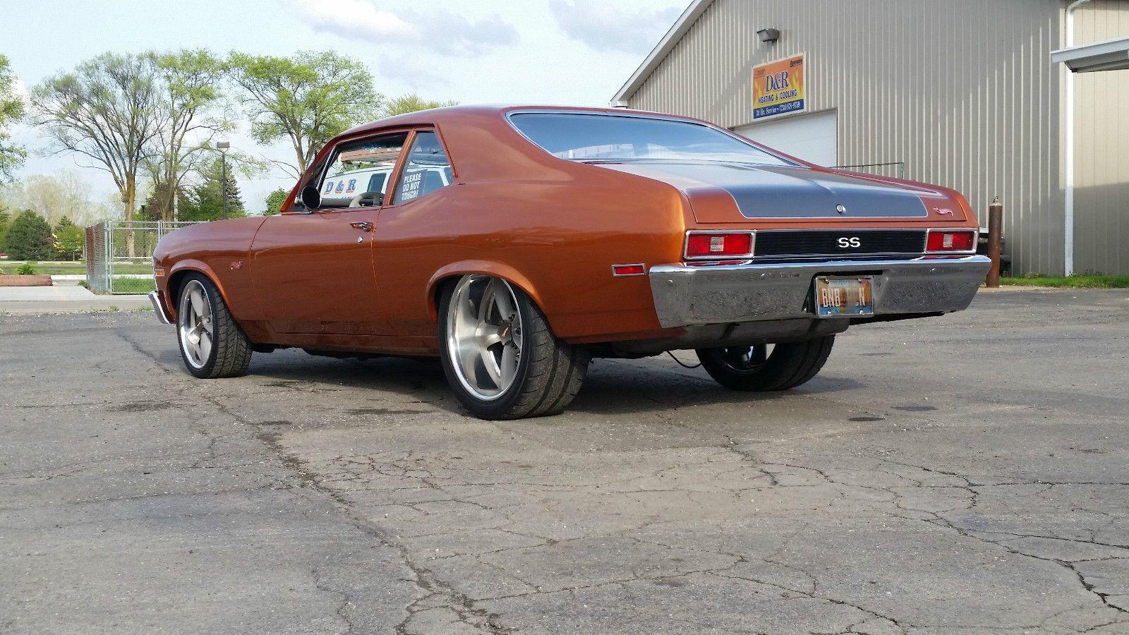 I Don T Think You Could Build This Car For This Money A Pro Touring Big Block 1972 Nova Pro Touring Big Block Nova