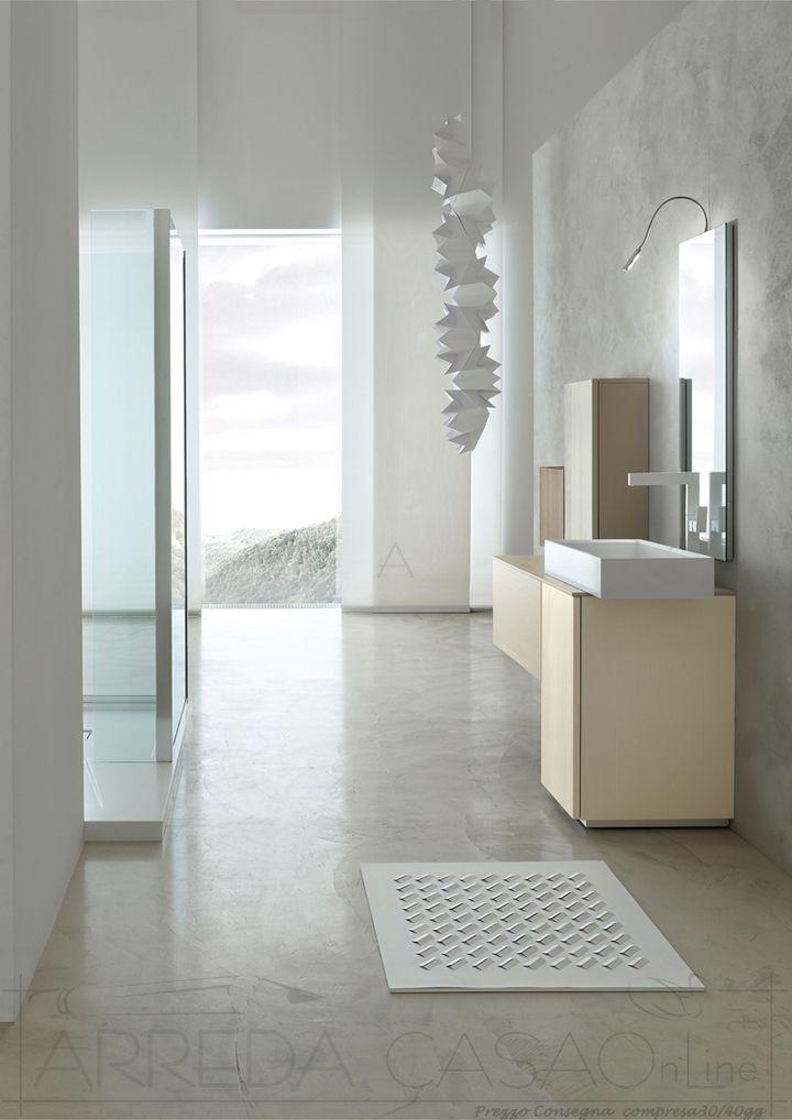 Arredo Bagno Design Terra Sopeso Kar37 Prezzo Arredacasaonline