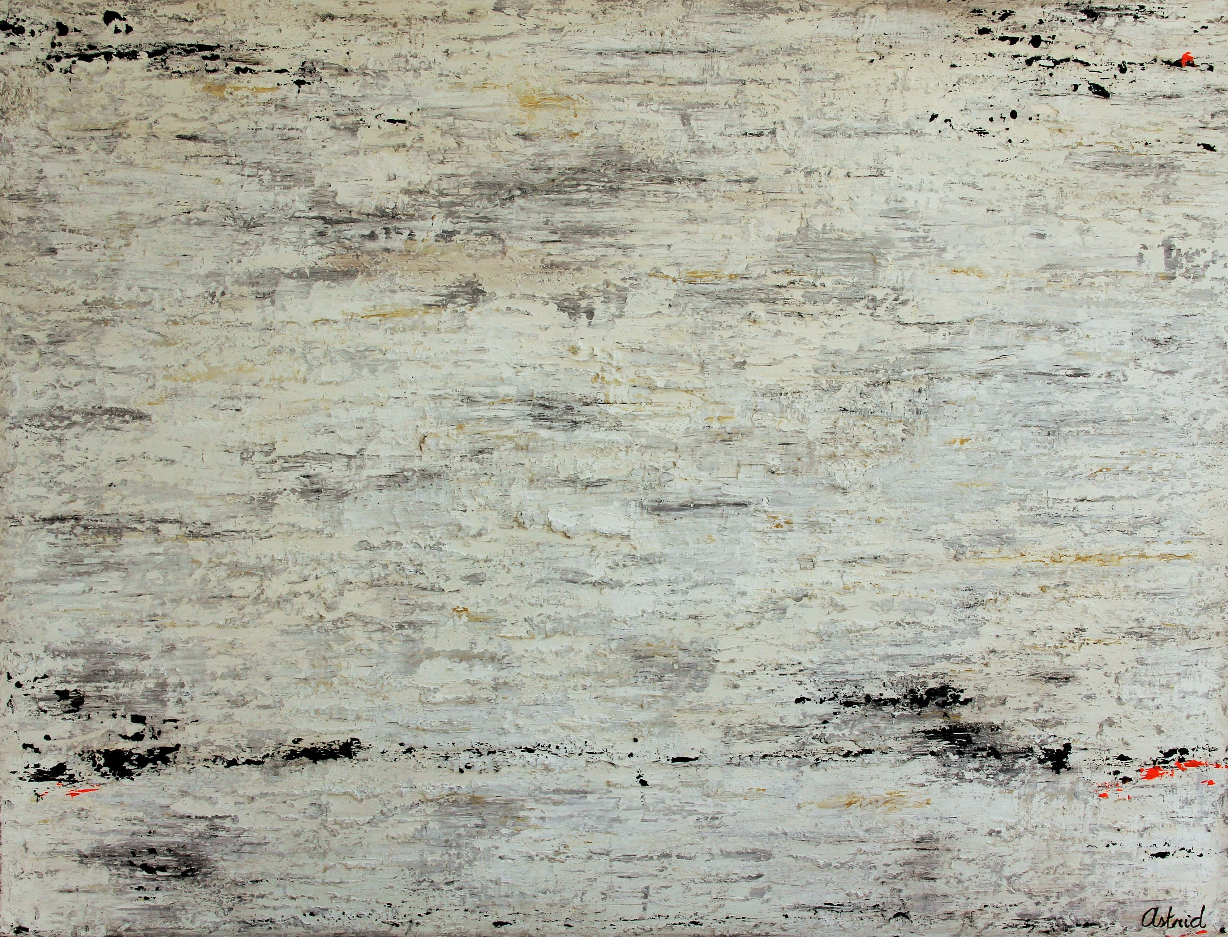 'Sobriety' 140 x 180 cm Mixed Media on canvas Texture