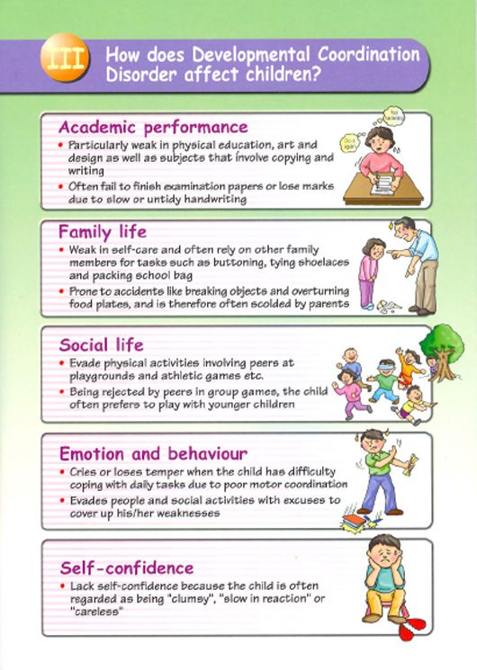 Cas health promotion childhood developmental disorders for Adhd and fine motor skills