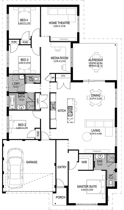 The Kalaroo: 4 Bed, 2 Bath, 15m Home Design From Only ...