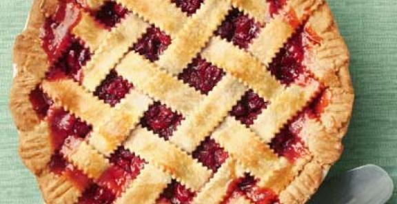 Honey-Sweetened Cherry Pie  | KitchenDaily.com