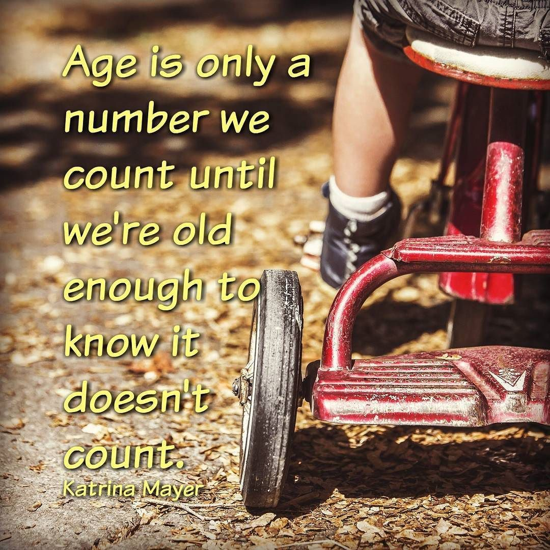 Age is just a number! Enjoy every moment! #smile #justanumber…