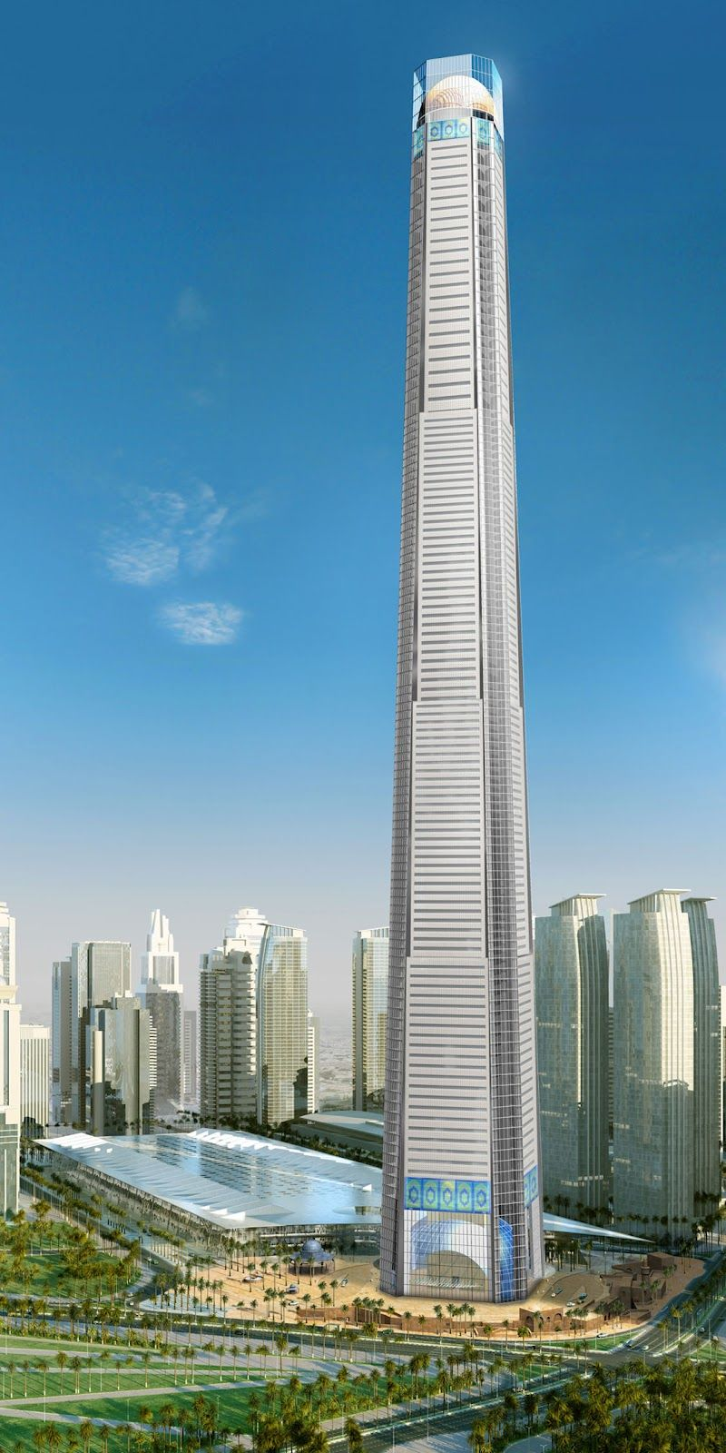 doha tower and convention center 112 flr skyscrapers pinterest architektur geb ude und. Black Bedroom Furniture Sets. Home Design Ideas