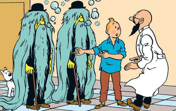TINTIN Land of Black Gold Hergé RG tintin.com