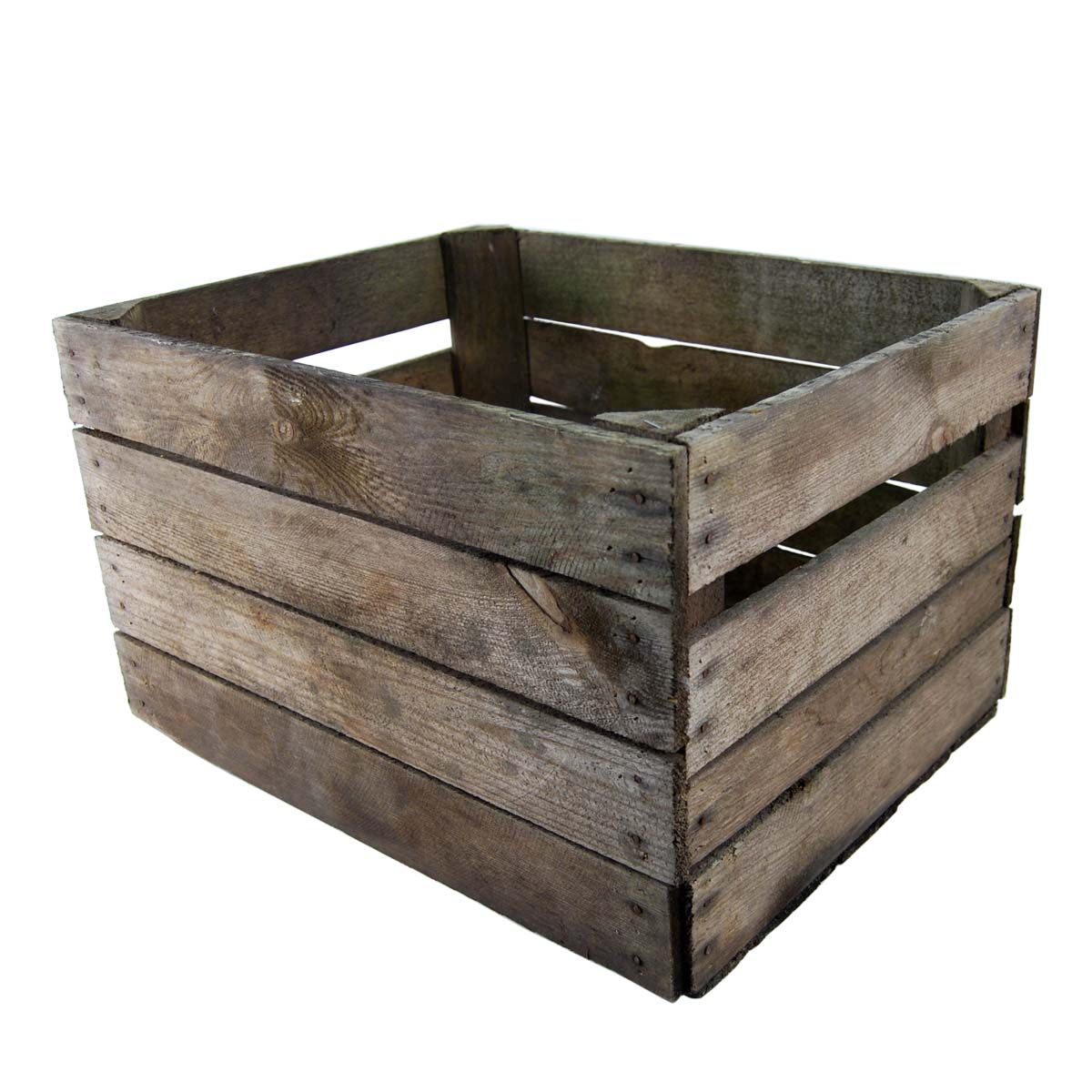 wooden apple crates ideal storage boxes display ebay