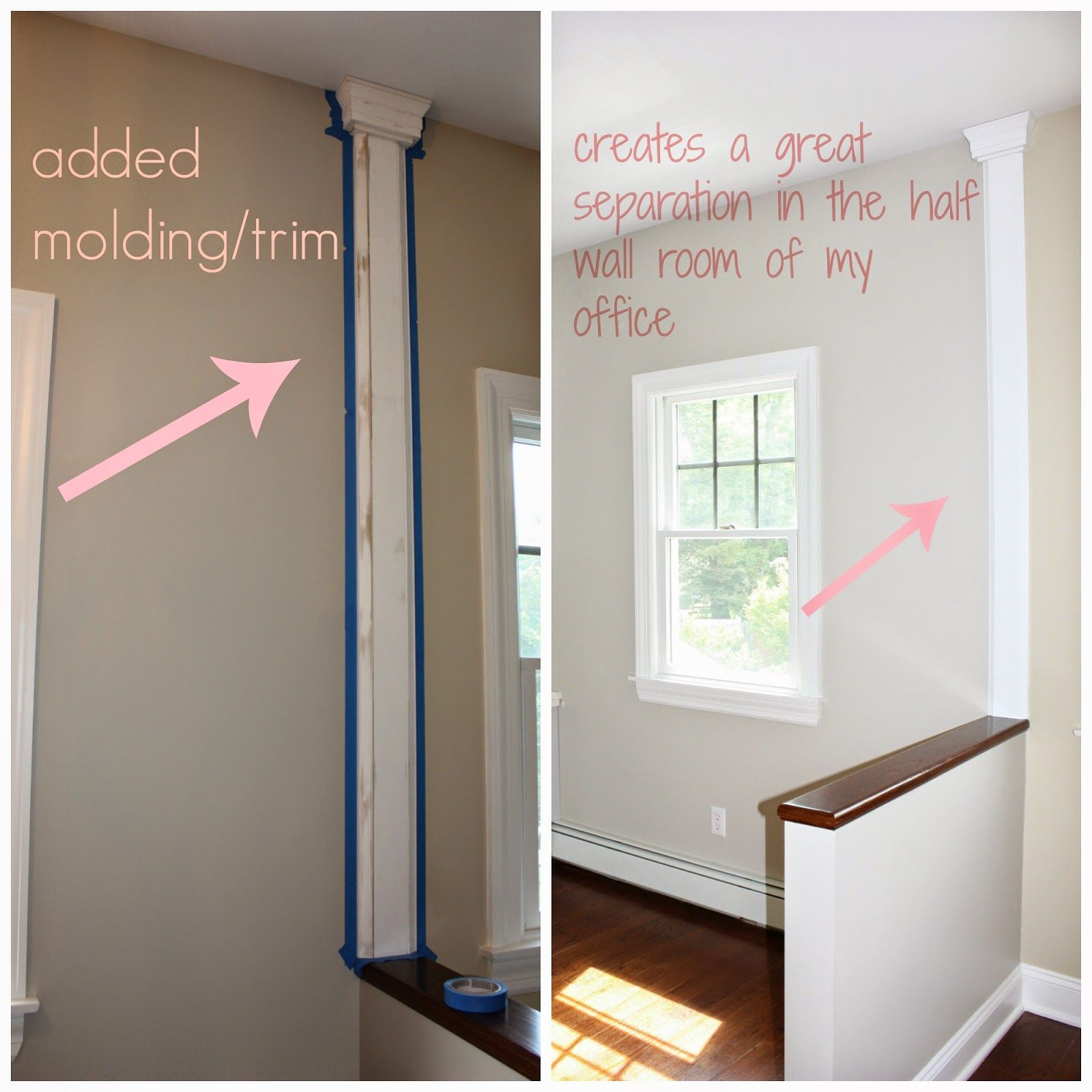 Trim To Divide A Wall For Painting - Google Search