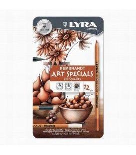 Lyra Rembrandt Art Specials 12 Set Drawing Box