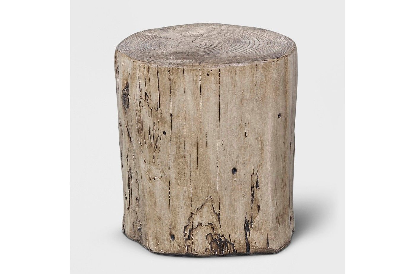 Surprising Faux Wood Stump Accent Table Gray Project 62 Image 1 Of Camellatalisay Diy Chair Ideas Camellatalisaycom