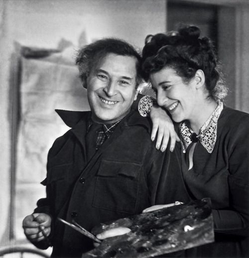 Lotte Jacobi: Marc Chagall mit seiner Tochter Ida, New York, 1946. © Lotte Jacobi Collection, University of New Hampshire, USA