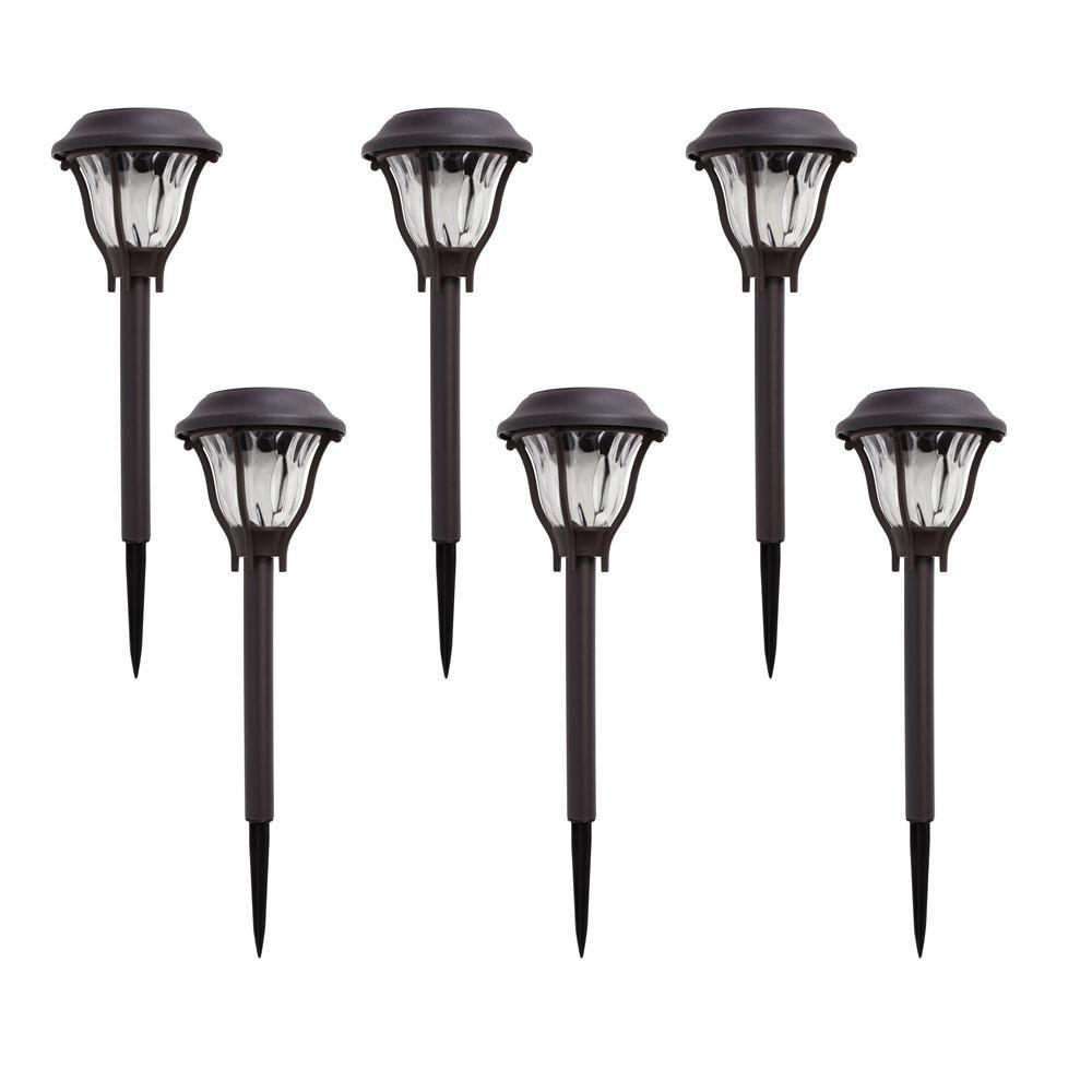 The Home Depot Logo Solar Pathway Lights Malibu Lighting Pathway Lighting