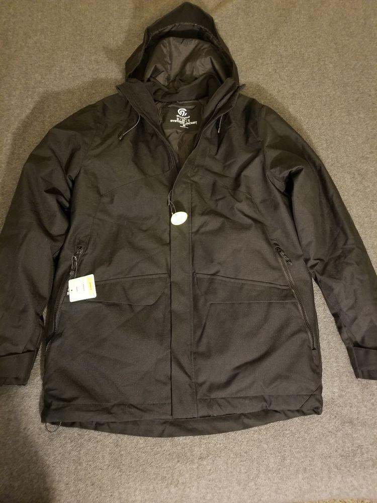 9cd1b67eb NEW Men s 3-in-1 Jacket - C9 Champion Black Medium  fashion ...