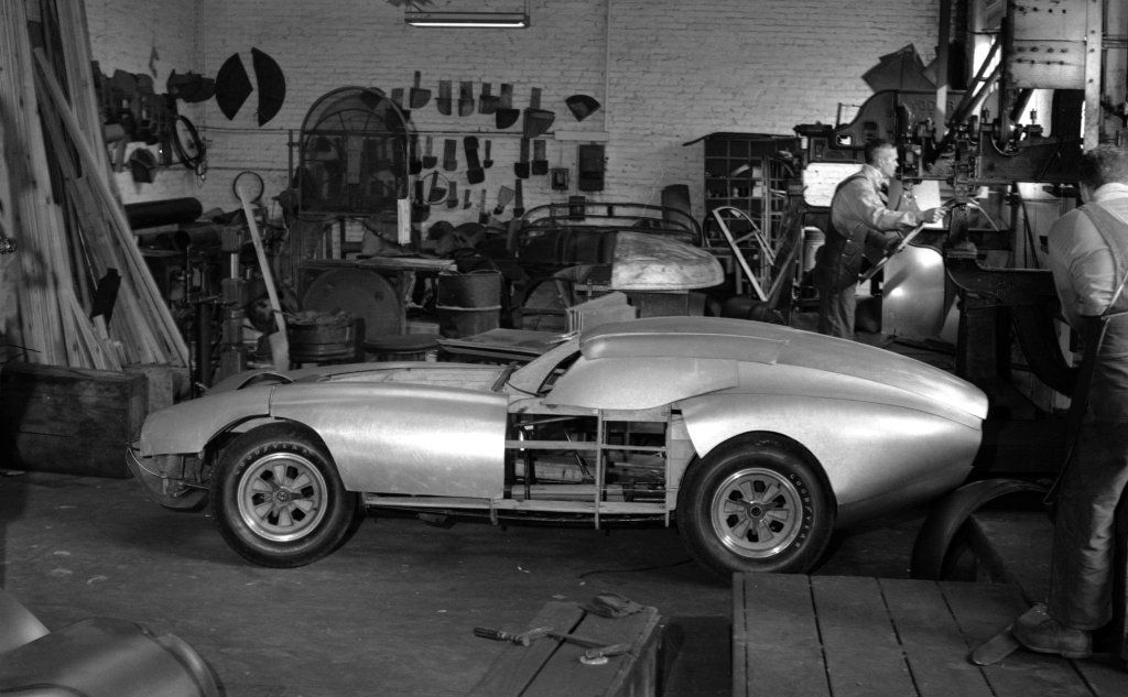 The first Shelby Daytona Coupe, chassis CSX2287, built to