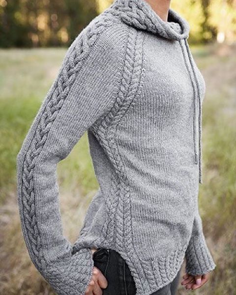 "LuxeFibers & Wool on Instagram: ""Sweater Weather is here - inspiration ______________________________________________…"""