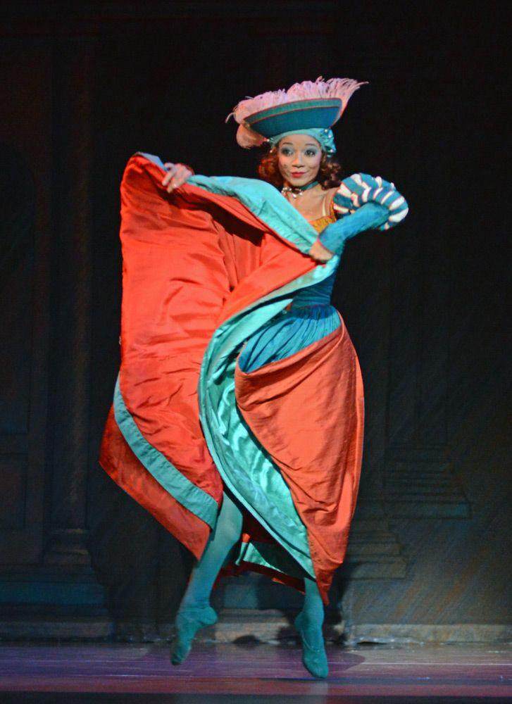Celine Gittens In The Taming Of The Shrew C Dave Morgan Ballet