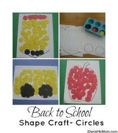 back to school activity for preschool - Google Search | All things ...