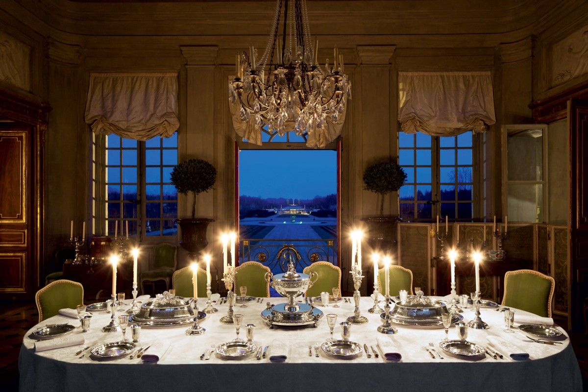 salle a manger ~ Jacques Garcia French chateau