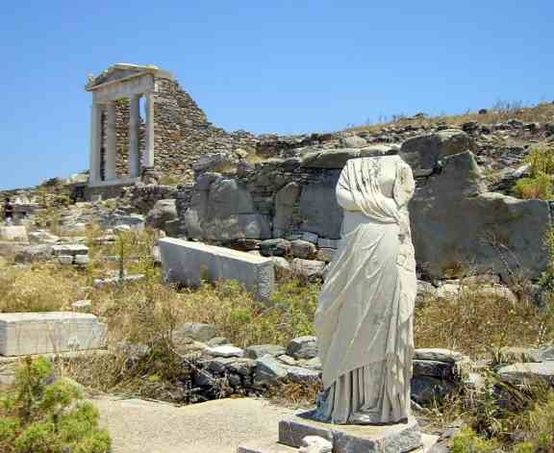 Delos Greece - Click image to find more Travel Pinterest pins
