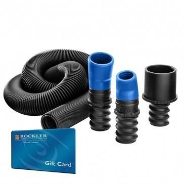 Dust Right Universal Small Port Hose Kit With Free 20 Gift Card Rockler Woodworking
