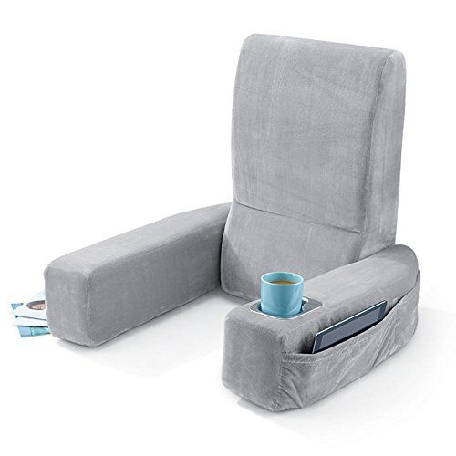 pain backrest comfortable memory dual pressure support lower by relieves back review pillow comfysure with and lumbar straps foam soft cushion adjustable