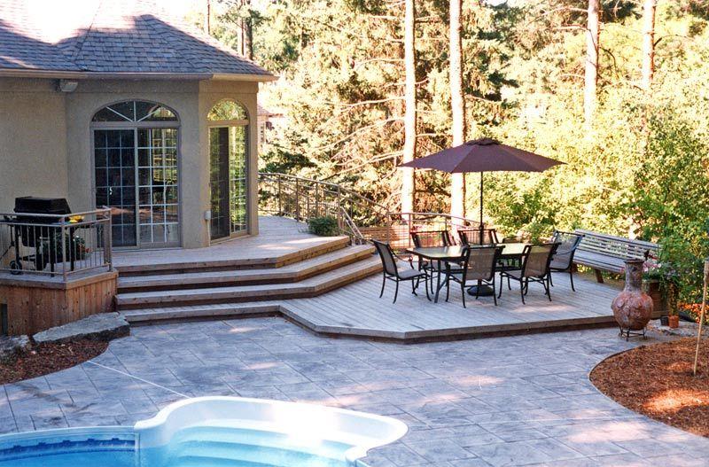 Landscape Design Pictures Paradise Decks And Landscape Design Bluestone Patio Landscape Design Picture Design