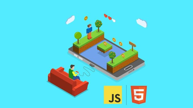 Game Development for Web Devs: Canvas, HTML5, and Javascript - udemy