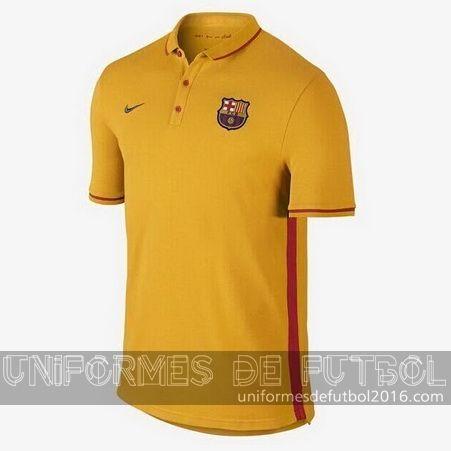 venta de camisetas polo amarillo barcelona
