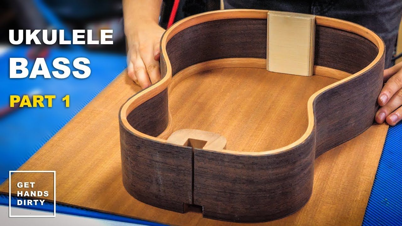 How to build a ukulele bass sides linings end and