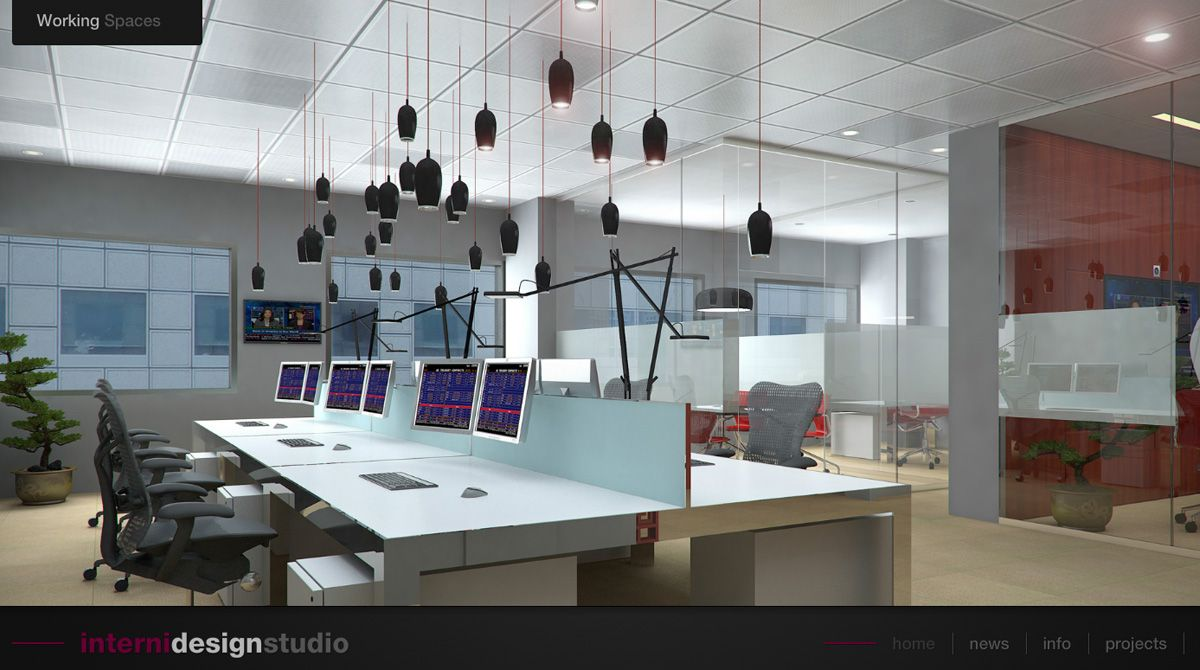 Interni design studio workspace design studio office for Sito design interni