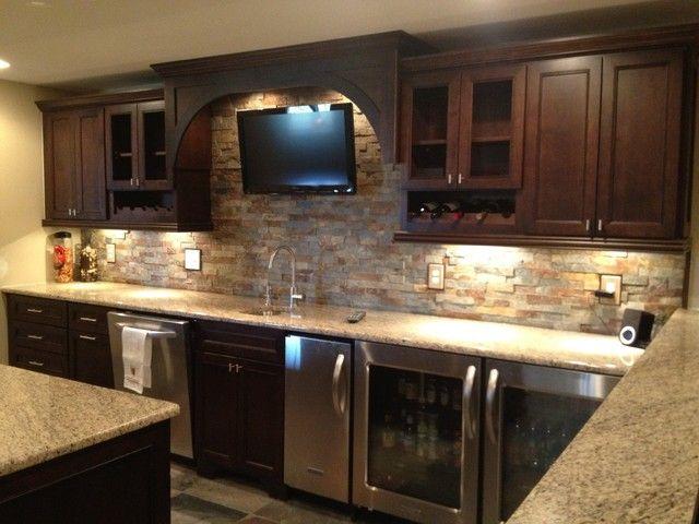 Novi Finished Basement Traditional Basement Detroit By Majestic Home Solutions Llc