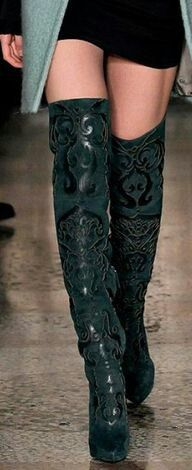 buying new fashion design buy popular Emerald Green OTK Boots | Shoes | Shoe boots, Boots, Shoes