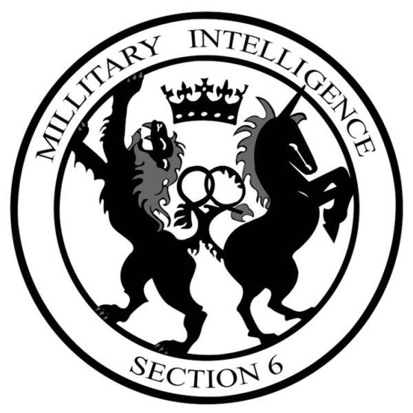 I can't believe that on the logo of mi6 the CIA of London has a unicorn on it!