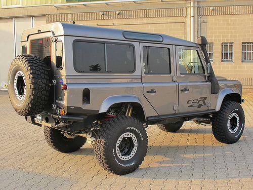 Lifted Defender 110 Land Rover Defender Land Rover Defender