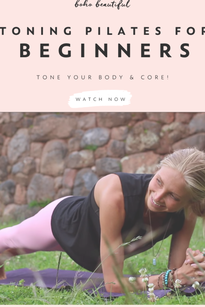 This Pilates 15 minute workout is perfect for beginners or anyone that is wanting to ease their way...