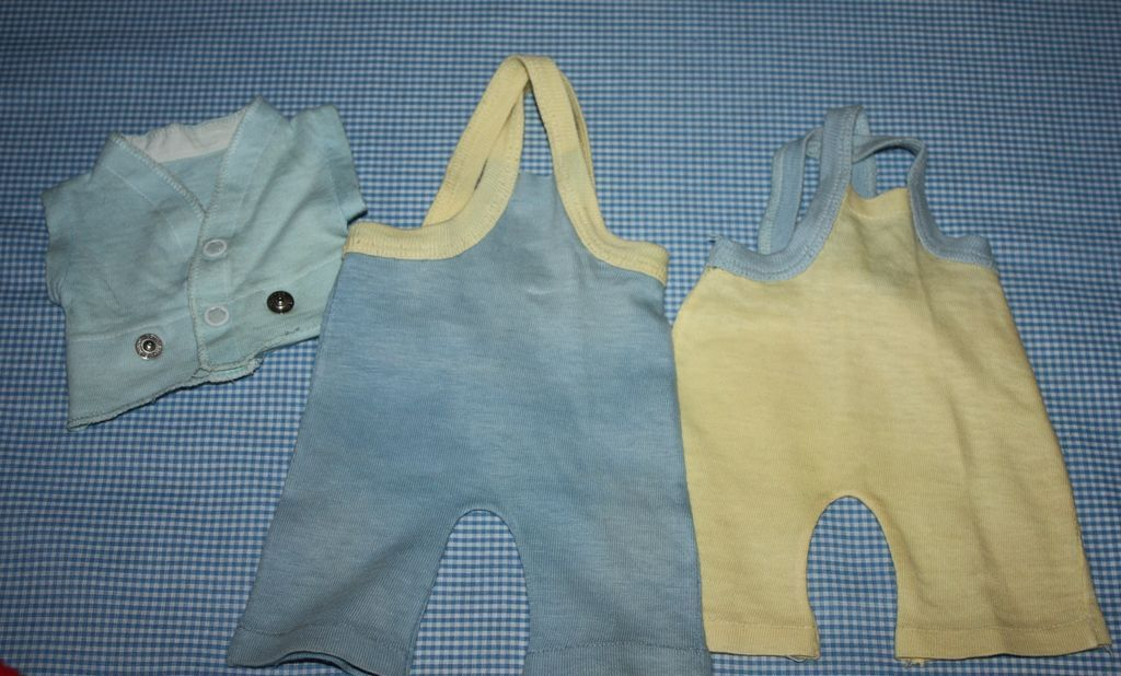 Knit Jumpsuits for Tiny Tears and Betsy Wetsy