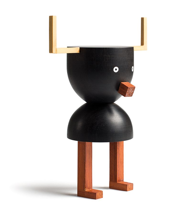 THE WOOD COLLECTOR | Toro. Funny Farm by Isidro Ferrer | LZF Lamps