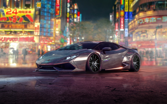Download Wallpapers Lamborghini Huracan Nfs Need For