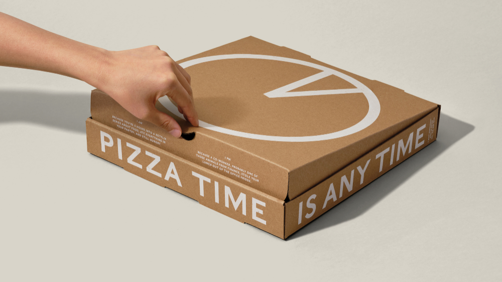 Pizza Time Is Anytime With Round-the-Clock Pizza Box