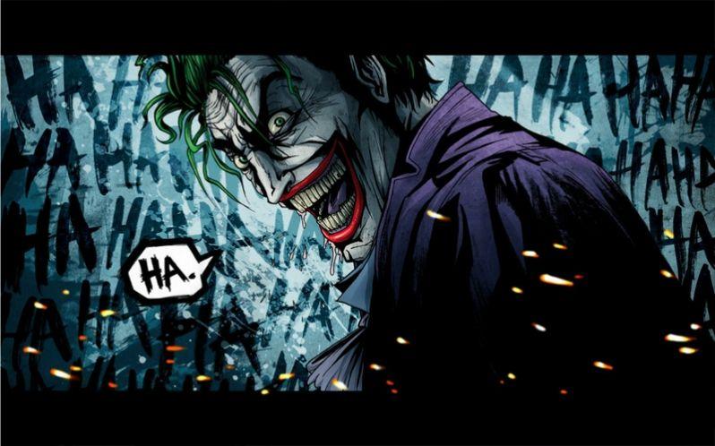 DC Comics The Joker Wallpaper HD
