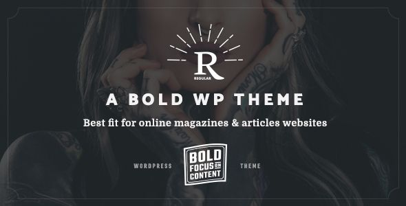 Regular - Writing, Content, Blog & Magazine Theme for WordPress ...