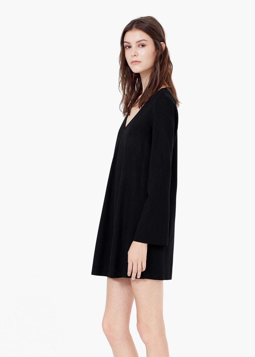Robe col en v - Femme en 2018   OOTD-tenue   Pinterest   Dresses ... 10e2083cc3a0