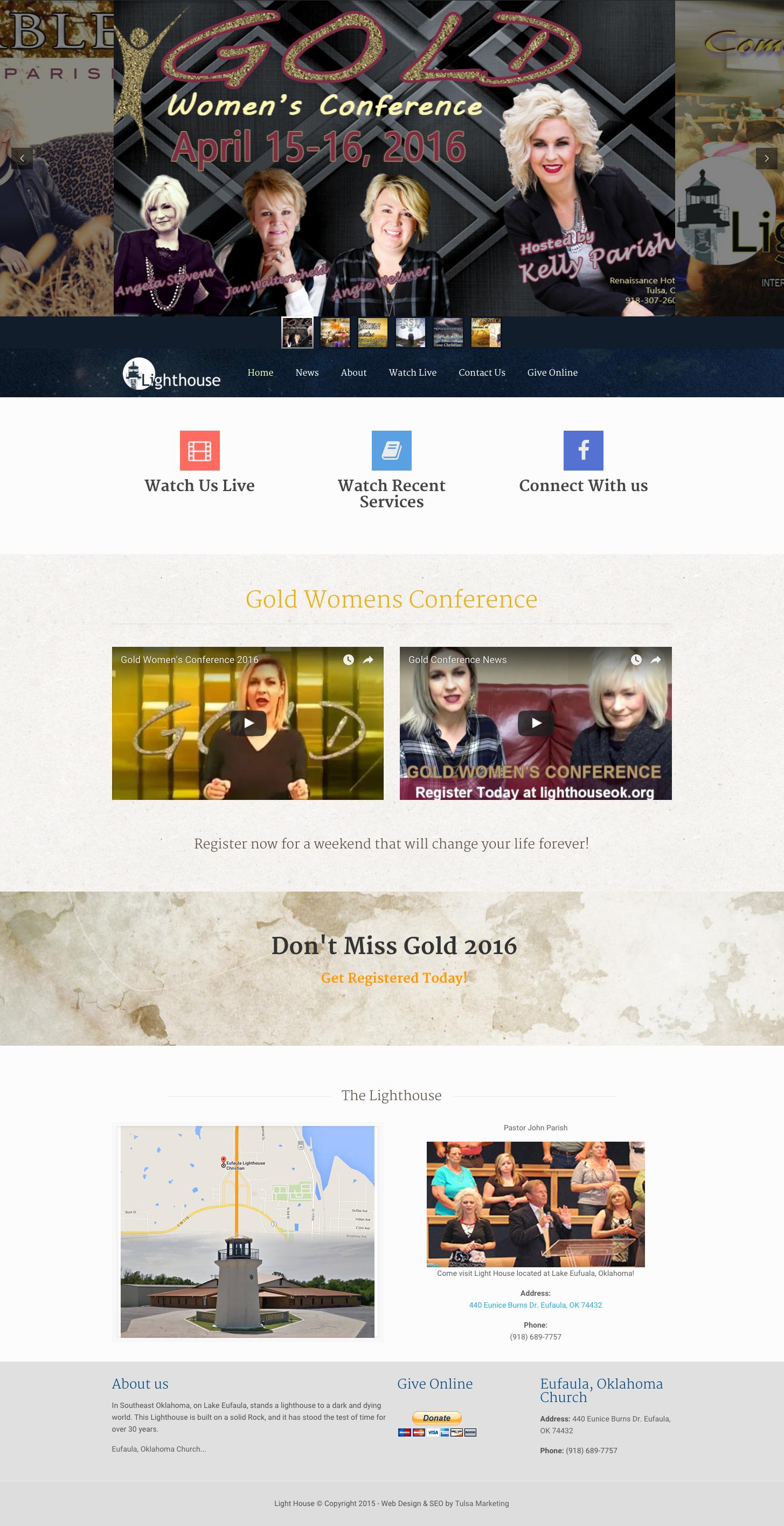 Lighthouse In Oklahoma Web Design Tulsa Marketing Tulsa Seo Web Design Website Design Design