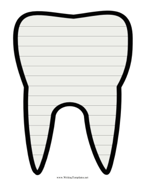 Great For Dentist Waiting Rooms This Printable Writing Template Is