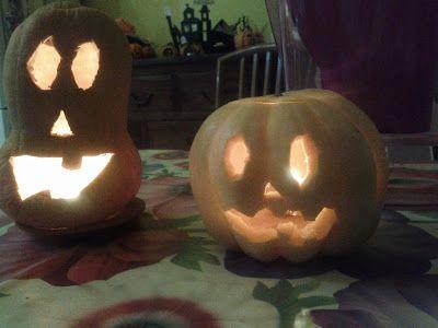 Jack and Jackie O'Lantern