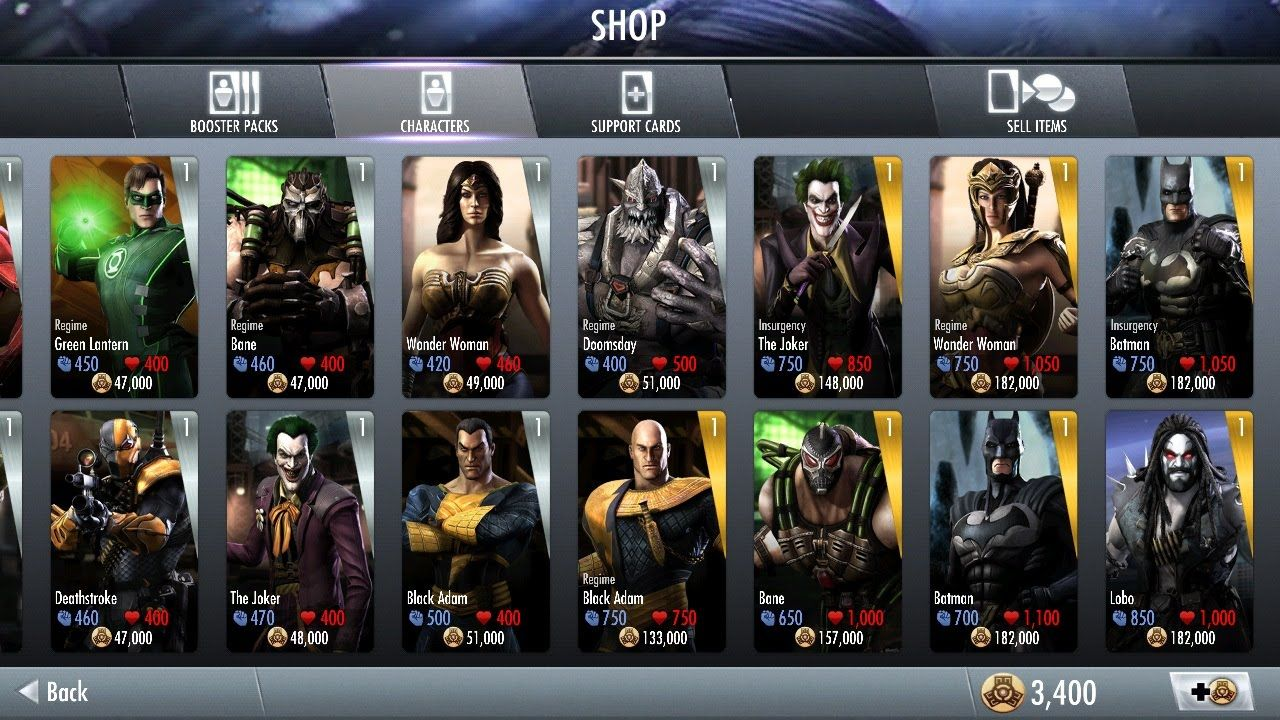 Injustice Gods Among Us Hack Power Energy Unlock All Characters And Unlock All Special Costumes Cheats New Android I Hack Free Money Injustice Tool Hacks
