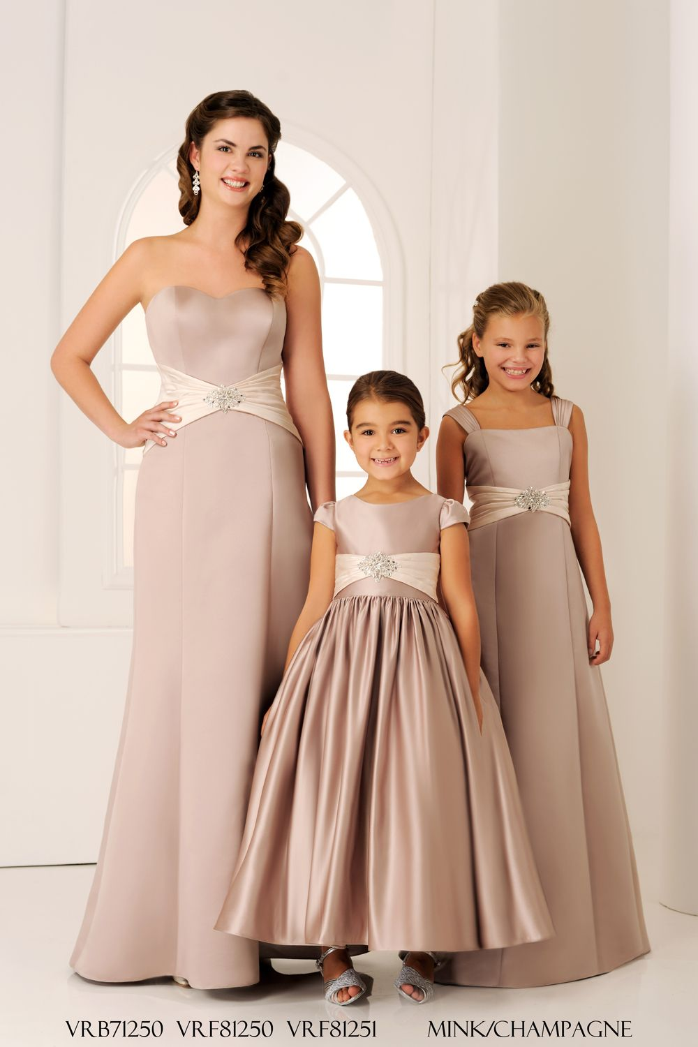 Vrb71250 vrf81250 vrf81251 from veromia bridesmaids in mink and whatever their age your favourite girls will absolutely love the elegant styles featured in the 2013 veromia bridesmaid dress collection ombrellifo Choice Image