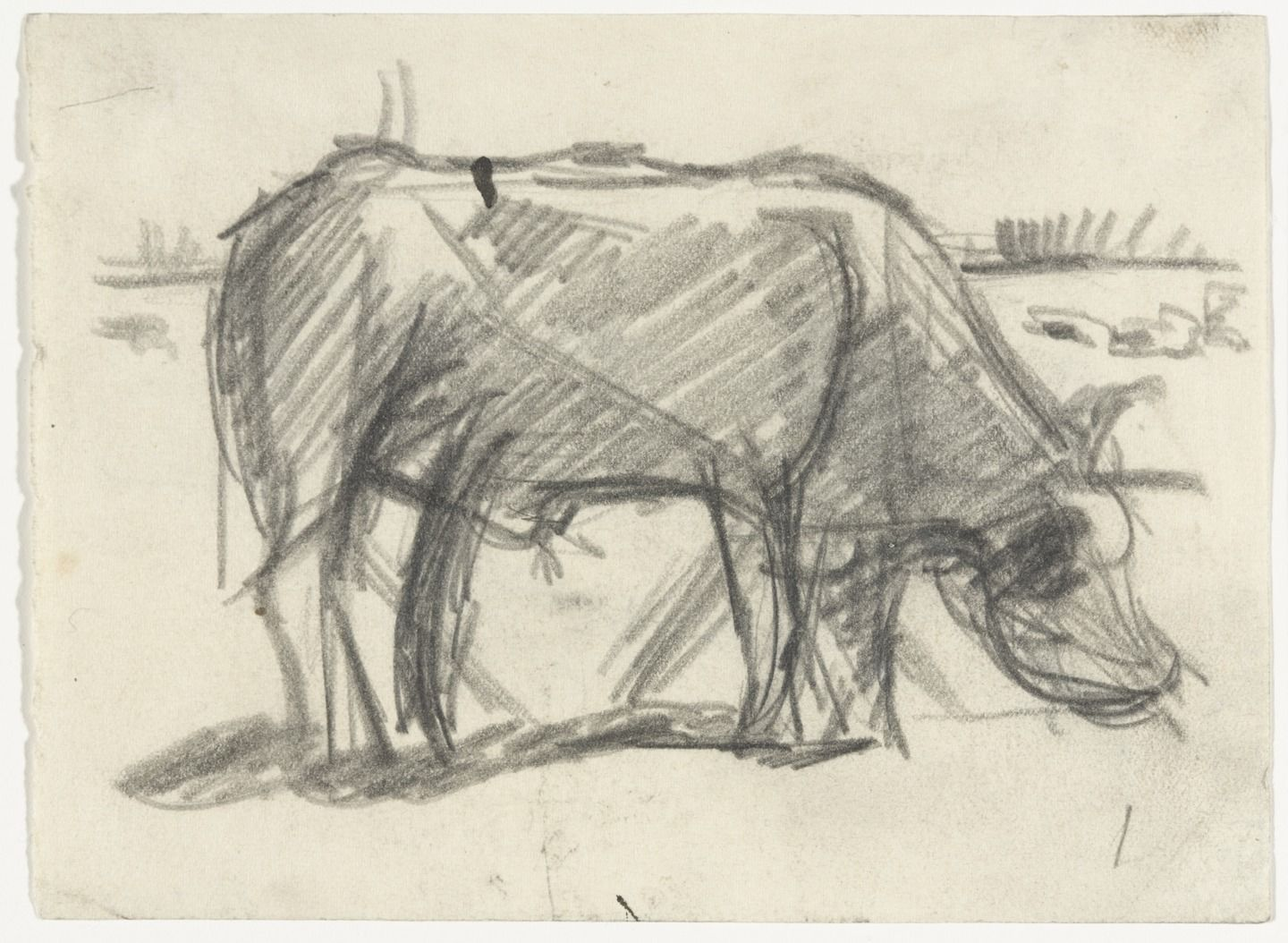 Theo van Doesburg (Christian Emil Marie Küpper). Composition (The Cow). (c. 1917)