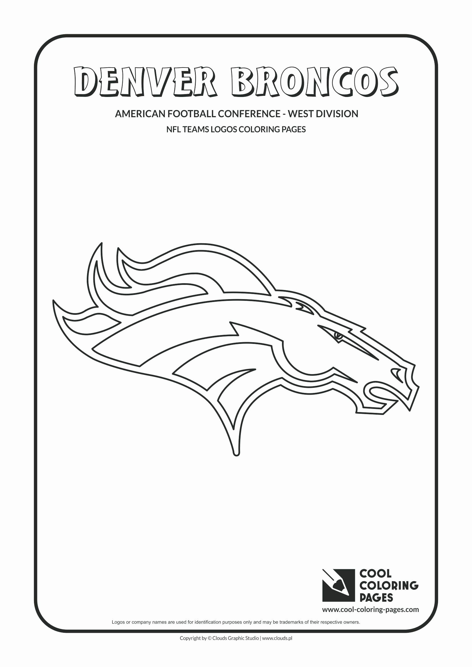 Basketball Team Coloring Pages New Free Denver Broncos Coloring Pages Bluedotsheet