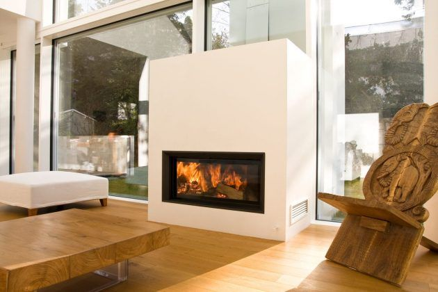 Feuerstelle In Deinem Wohnzimmer * Ausgefallener Kamin Und Ofen * Ideen Für  Dein Wohnzimmer * Brunner