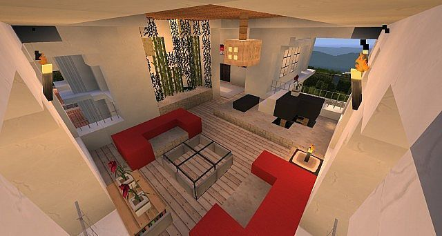 Hollywood Style in 2020 | Minecraft houses, Minecraft room, Modern minecraft houses